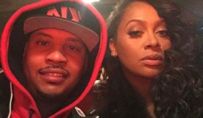 Fans gush over Carmelo Anthony's Valentine's Day message to his wife La La Anthony