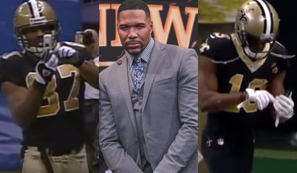 Joe Horn Explains Why Michael Strahan Was Bothered By Michael Thomas' Touchdown Celebration