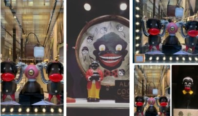 Prada is getting blasted for releasing a campaign with characters in blackface.