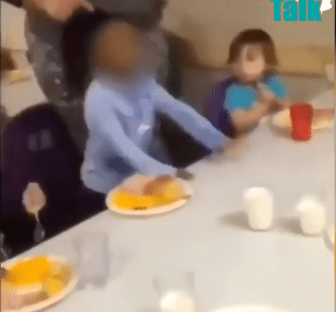 Day care worker Yanks Child's Hair