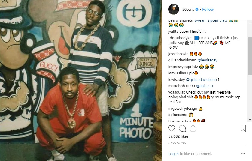 "50 Cent posted a new message about the ""Power"" prequel."