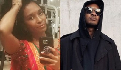 Chilli posted a message about soulmates, tagged usher, then removed the tag after fan's comments.