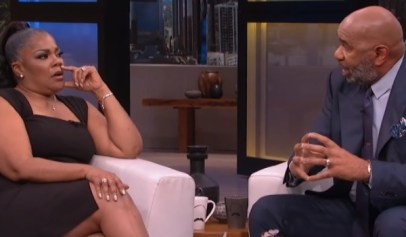 Steve Harvey said he regrets his heated exchange with Mo'Nique.