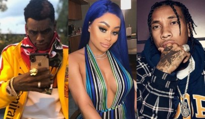 Soulja Boy dissed Tyga by saying he slept with his ex Blac Chyna.