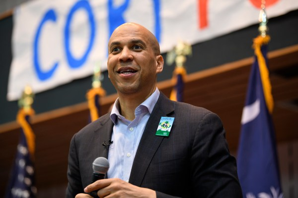 2020 ELECTION CORY BOOKER