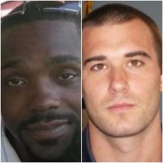 Man killed and officer accused