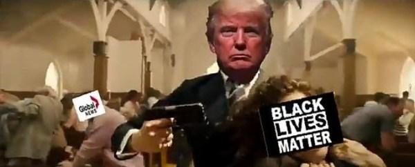 Trump video spoof