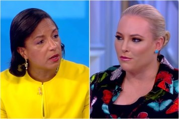 Susan Rice and Meghan McCain