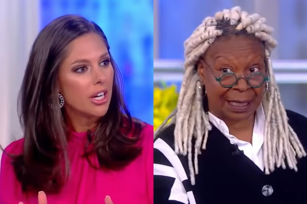 Abby Huntsman and Whoopi Goldberg