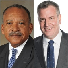 Benjamin Tucker and Bill de Blasio