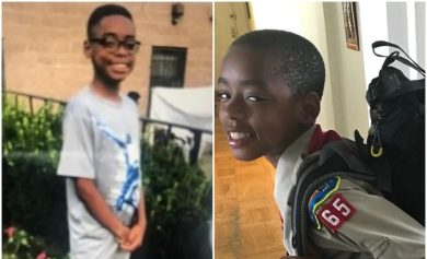Family photos of missing Boy Scout
