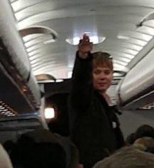 Racist plane passenger