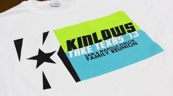 Kinlow Reunion - Pantone Color Match Inks
