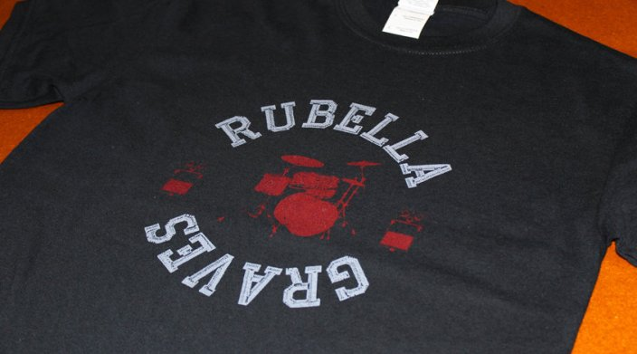 Rubela - Custom Band T-shirts