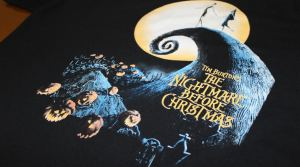 Tim Burton - Dark Apparel Screen Printing