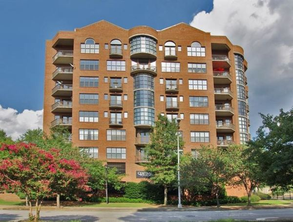 Atlanta GA Central Park Lofts Condo Building