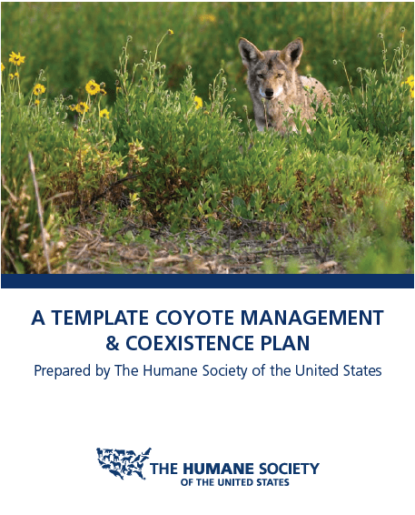 Humane Society Coyote Management Plan