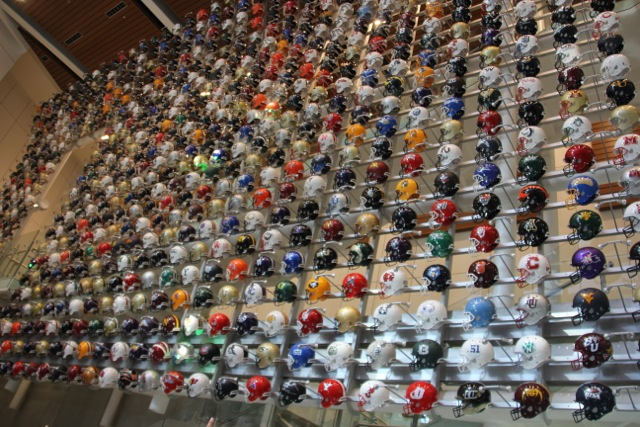 Wall of all College Teams