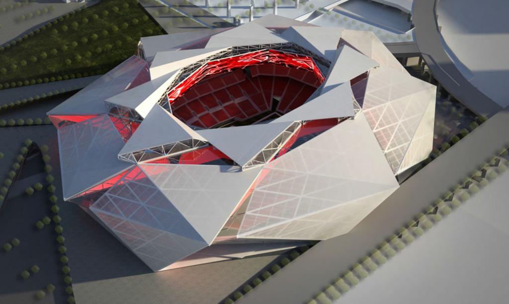 Falcons-stadium