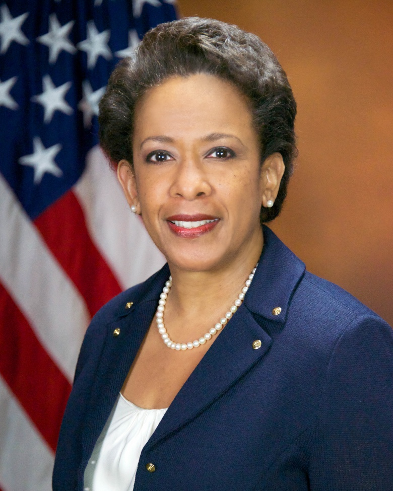 Attorney General Loretta Lynch, head of the Justice Department.