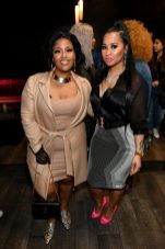 """ATLANTA, GEORGIA - MARCH 10: Akbar V and Tammy Rivera attend the premiere of """"Waka & Tammy: What The Flocka"""" at Republic on March 10, 2020 in Atlanta, Georgia. (Photo by Paras Griffin/Getty Images WE tv)"""
