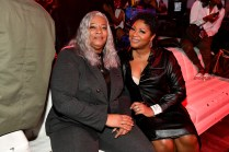 """ATLANTA, GEORGIA - MARCH 10: Debra Antney (L) and Trina Braxton attend the premiere of """"Waka & Tammy: What The Flocka"""" at Republic on March 10, 2020 in Atlanta, Georgia. (Photo by Paras Griffin/Getty Images WE tv)"""