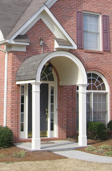 10 Arched Roof Portico