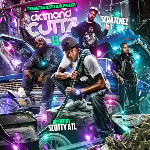 diamond-cutz-13-skrilla-mixtape-cover-design-by-skrilla-co-uk