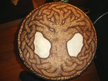 tree of life henna drum