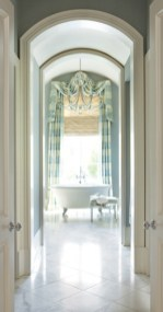 "ARCHWAYS ""The bathroom corridor echoes the beautiful architecture throughout the entire house."" -S.C."