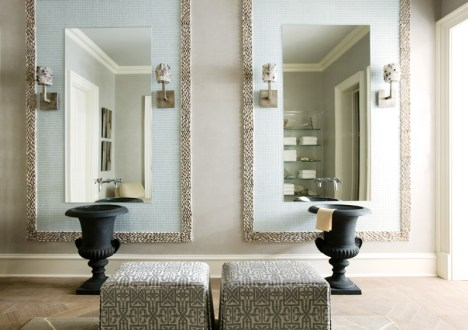 23) At the hands of Tish Mills, a bathroom vanity is like no other.