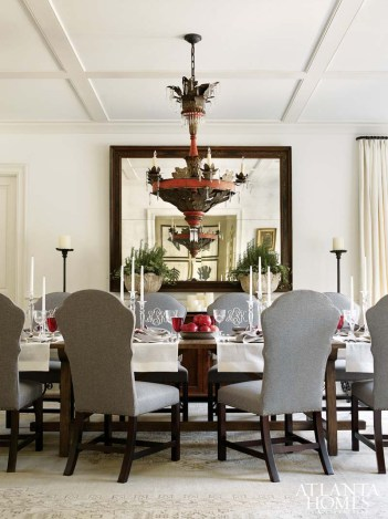 Dining Room Barbara Westbrook, Westbrook Interiors
