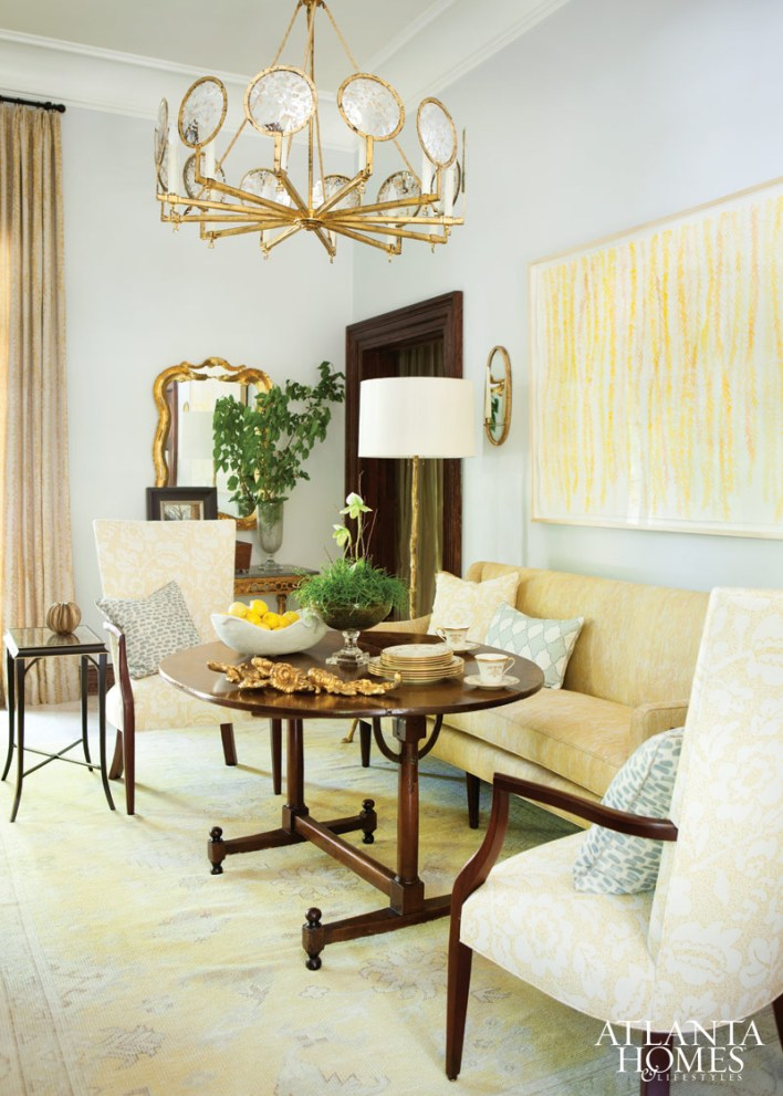 Breakfast Room by Maria McLaurin Nutt and Clay McLaurin; McLaurin Interiors