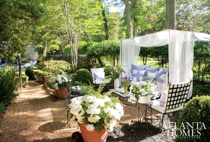 Solarium Garden by Lila Pryor Frank and Allyson Kirkpatrick; Lila Pryor Frank Interiors with AllysonK Designs