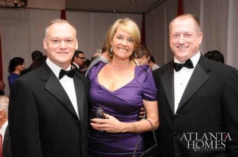 Robert Long, Caroline Tucker and Raymond Daugherty