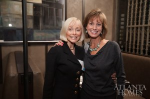 Sue Newman of Beacham & Co. with Wight Mixon of Dorsey Alston Realtors