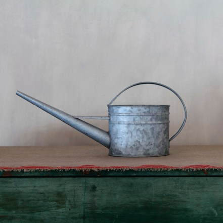 Simon Pearce galvanized metal indoor watering can, $30. simonpearce.com for retailers