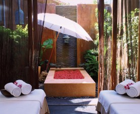 """Each of the spa""""s seven suites at Anantara Hua Hin is set in its own individual garden courtyard created by award-winning landscape architect Bill Bensley."""