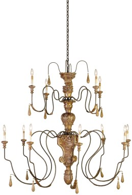 Mansion Chandelier by Currey & Co.