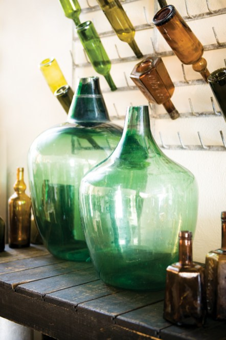 Antique french wine bottles, $75-$240 each. Vintage, 22-A East Andrews Dr. NW, Atlanta 30305. (404) 846-0907