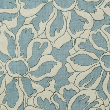 """""""capri"""" fabric by cowman and, Tout, Available through Travis & Company. Available to the trade only."""