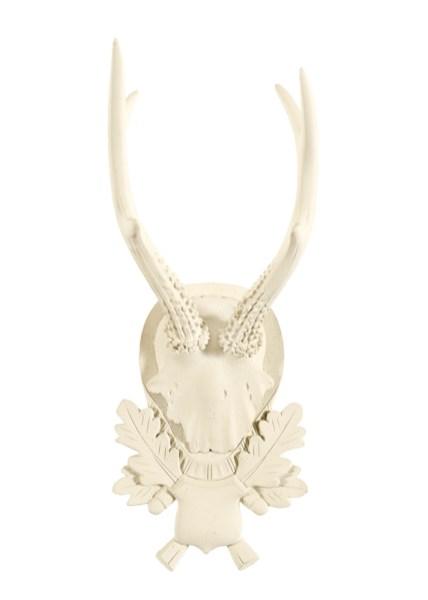 Suzanne Kasler for Ballard Designs Atelier Antlers in Style V, $49. Ballard Designs, (800) 536-7551; ballarddesigns.com