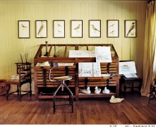 72) An artist's studio by Carolyn Malone is a perfect composition unto itself.