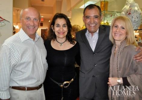 Dave Muia, Barbara Jabalay, Fio Pichardo and Eve Marie Eyde