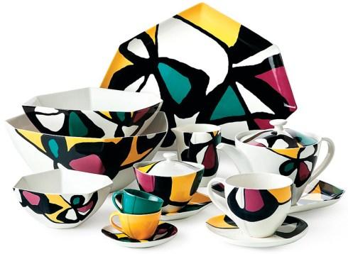 "Micro Flowers dinnerware collection by Diane Von Furstenberg. From $18. Bloomingdale""s, Lenox Square. (404) 495-2800; bloomingdales.com"