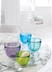 David Mellor glass bowls, $25-$38 each. Design Within Reach