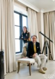 Stan Topol and Reynolds Brown of Stan Topol & Associates represent the firm's teamwork approach to design.