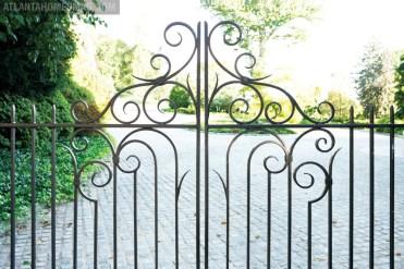 Calhoun Design & Metalworks also designed the beautiful entry gate.