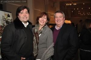 Chad Holman, Barbara Howard and Keith Traxler