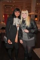 Krystal Persaud and Megan Joyce